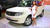 2015 Tata Safari Storme Facelift Front Three Quart