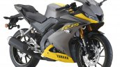 2019 Yamaha R15 Malaysia Yellow Right Front Quarte