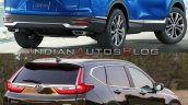 2020 Honda Cr V Facelift Vs 2017 Honda Cr V 3