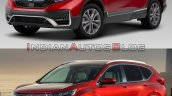 2020 Honda Cr V Facelift Vs 2017 Honda Cr V 4