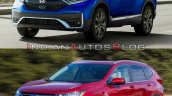 2020 Honda Cr V Facelift Vs 2017 Honda Cr V 5