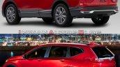 2020 Honda Cr V Facelift Vs 2017 Honda Cr V 6