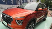 2020 Hyundai Ix25 2020 Hyundai Creta Orange Front