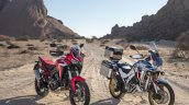2020 Honda Africa Twin Front Three Quarter
