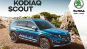Indian Spec Skoda Kodiaq Scout Brochure Cover