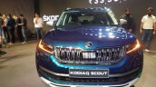 Indian Spec Skoda Kodiaq Scout Front Launch Image
