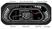 Tata Tigor Fully Digital Instrument Cluster Featur