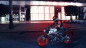 2020 Yamaha Mt 03 Action Shots Left Side
