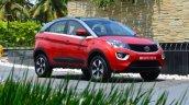 Tata Nexon Review Test Drive Front Angle F695 1