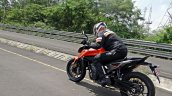 Ktm 790 Duke First Ride Review Action Shots Left R