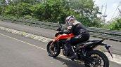 Ktm 790 Duke First Ride Review Action Shots Left R