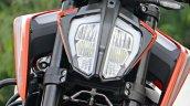 Ktm 790 Duke First Ride Review Details Headlight