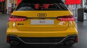 Vegas Yellow 2020 Audi Rs 6 Avant Rear