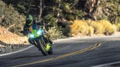 2020 Kawasaki Ninja 650 Action Shot Left Front