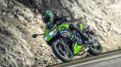 2020 Kawasaki Ninja 650 Action Shot Left Front Qua