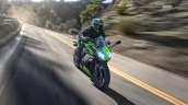 2020 Kawasaki Ninja 650 Action Shot Right Front Qu
