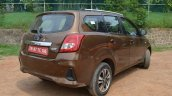 2018 Datsun Go Facelift Rear Three Quarters B6be