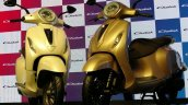 Bajaj Chetak Electric Scooter Unveiled On Stage Fr