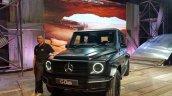 Mercedes Benz G 350 D Front Quarter