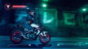 2020 Yamaha Mt 125 Side Profile Right