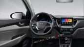 2020 Hyundai Verna Facelift Dashboard Driver Side