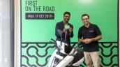 Ather 450 Chennai Deliveries Key Handover 2