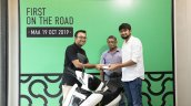 Ather 450 Chennai Deliveries Key Handover