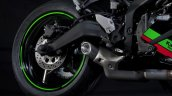 Kawasaki Zx 25r Rear Wheel And Exhaust