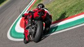 Ducati Panigale V2 Action Shots Left Rear Quarter