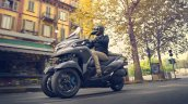 2020 Yamaha Tricity 300 Action Shots Left Front Qu