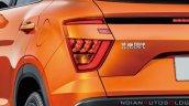 2020 Hyundai Ix25 2020 Hyundai Creta Tail Lights