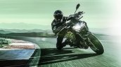 2020 Kawasaki Z900 Front Three Quarter Motion Left