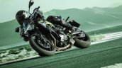 2020 Kawasaki Z900 Front Three Quarter Motion Righ