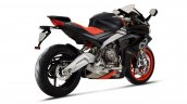 Aprilia Rs 660 Black And Red Right Rear Quarter