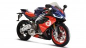 Aprilia Rs 660 Purple And Blue Right Front Quarter