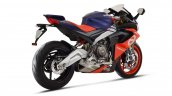 Aprilia Rs 660 Purple And Blue Right Rear Quarter