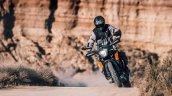 Ktm 250 Adventure Action Shot Front