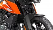 Ktm 250 Adventure Studio Shot Front Forks