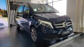 Mercedes V Class Launched In India Front Quarters