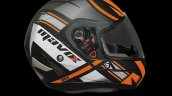 Mavox Fx Series Helmets Orange Right Side