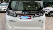 Toyota Vellfire Luxury Mpv Rear Profile