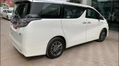 Toyota Vellfire Luxury Mpv Rear Quarter