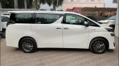 Toyota Vellfire Luxury Mpv Side Profile