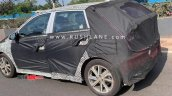 2020 Hyundai I20 Rear Three Quarters Spy Shot