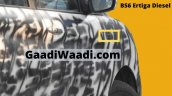 Maruti Ertiga Diesel Bs6 Spied On Test