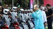 Bajaj Chetak Electric Yatra Concludes Rahul Bajaj