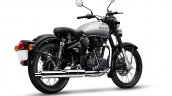 Royal Enfield Classic 350 Mercury Silver Right Rea