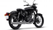 Royal Enfield Classic 350 Pure Black Right Rear Qu