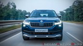 Skoda Kodiaq Scout Exterior Dynamic Front Face
