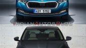 Skoda Octavia Old Vs New Front Facia Dcb9